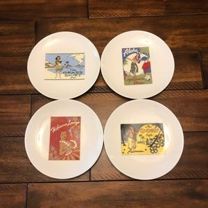 Pottery Barn Plate set